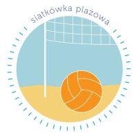 Logo siatkówka plażowa