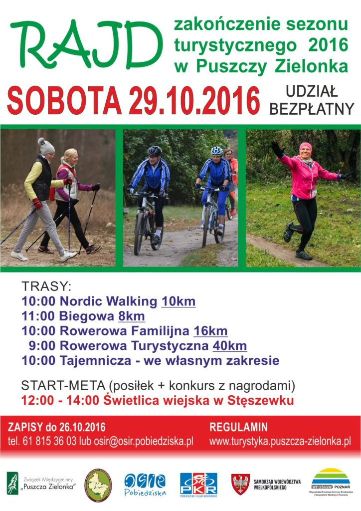 Zakończenie sezonu turystycznego 2016 w Puszczy Zielonce