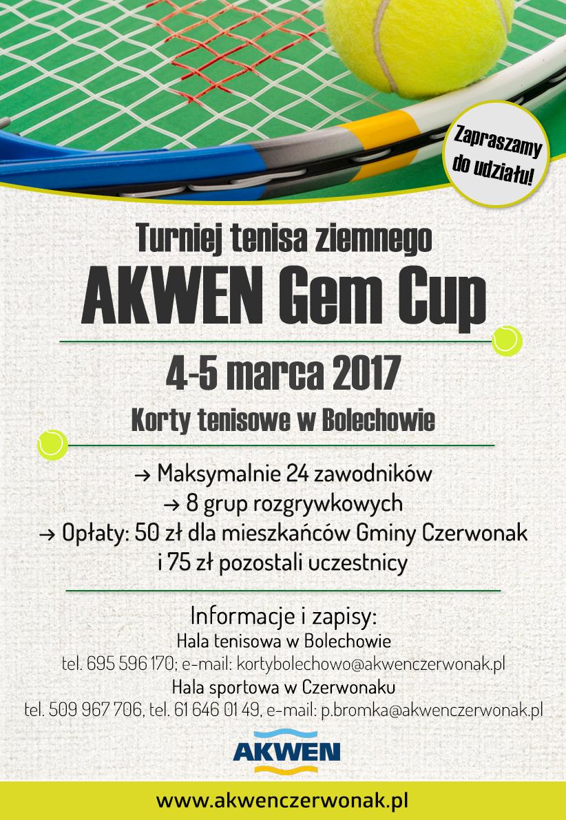 AKWEN Gem Cup - plakat