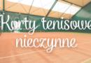 Korty tenisowe w Bolechowie nieczynne do odwołania