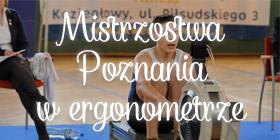Mistrzostwa Poznania na ergonometrze w Czerwonaku