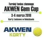 3-4.03.2018 Turniej Tenisowy GEM CUP