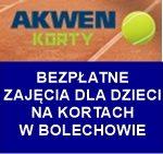 Bolechowo – zajęcia tenisowe na kortach g. 18.30