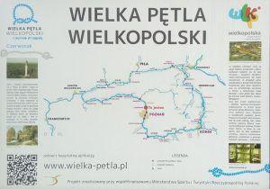 mapa wielkiej pętli wielkopolski