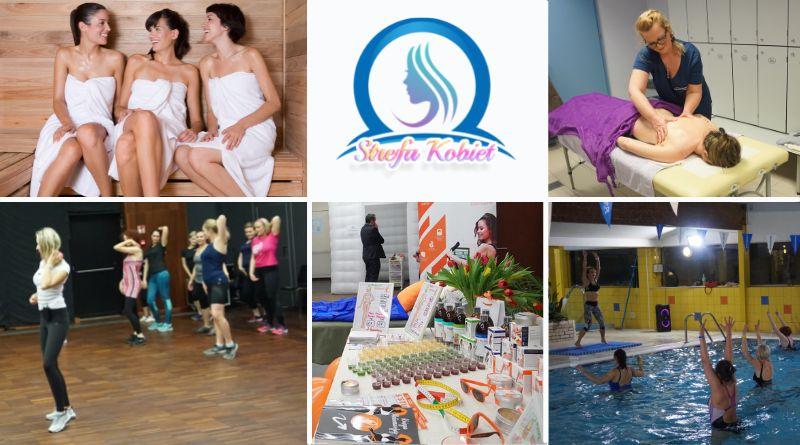 saunowanie, masaż, aerobik w wodzie, kobiety tańczące